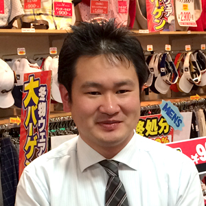 店長 横江 哲郎